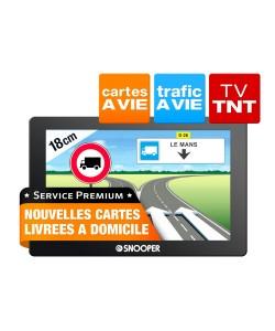GPS portable 7' + TNT Autocar Service Premium