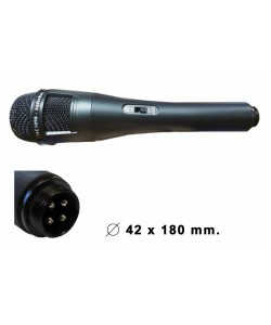 Microphone métal