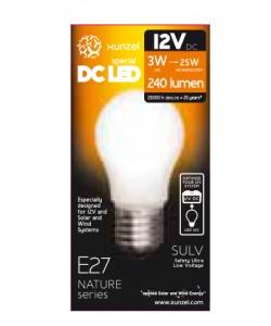 Ampoule LED 12V - 3W 4000K E27