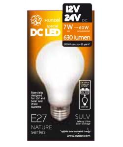 Ampoule LED 12V - 7W 4000K E27