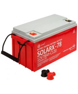 Batterie solaire 12V 78Ah AGM XUNZEL