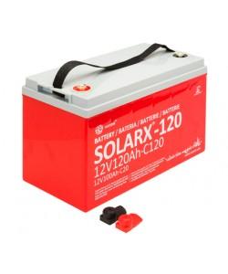 Batterie solaire 12V 120Ah AGM XUNZEL