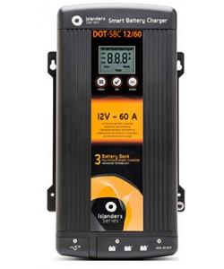 Chargeur de batterie 230/12V 40A pour 3 batteries XUNZEL