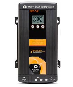 Chargeur de batterie 230/12V 60A pour 3 batteries XUNZEL