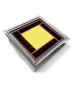 Pavé Solaire lumineux 20 x 20 cm L