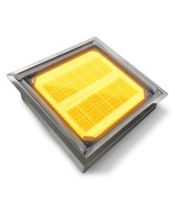 Pavé Solaire lumineux 20 x 20 cm XL