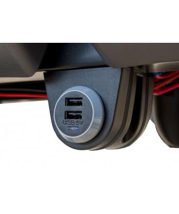 Boîtier Pod pour chargeur USB